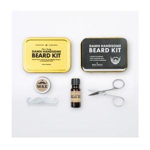 Cestovná sada na úpravu fúzov Men's Society Handsome Beard Grooming
