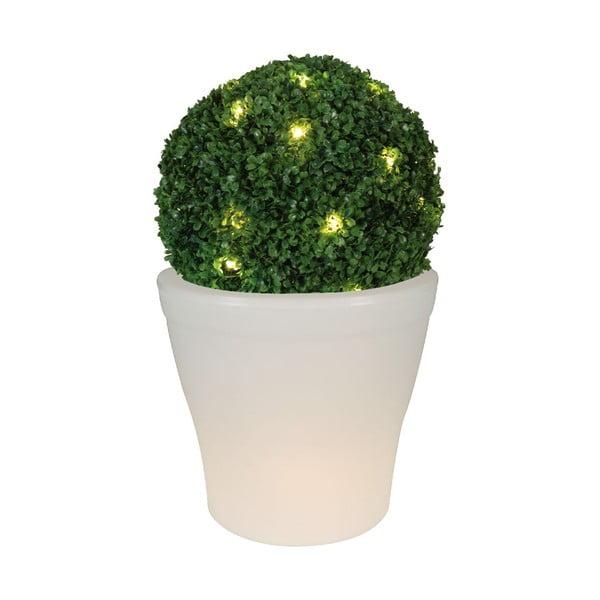 Záhradný osvetlený kvetináč Giad