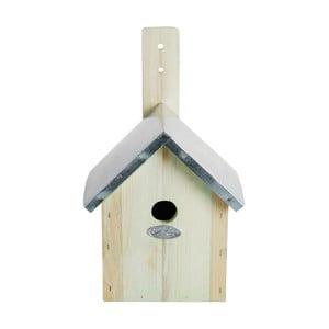 Búdka pre vtáčiky z borovicového dreva Esschert Design, 18×32 cm