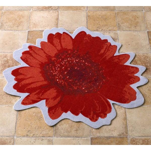 Koberec Special - červený kvet, 100 cm