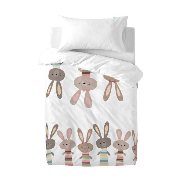 Obliečky Little W Rabbit, 100×120cm