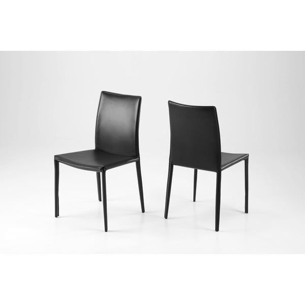 Jedálenská stolička Andrew, čierna