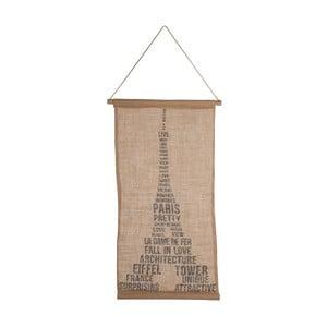 Závesná dekorácia J-Line Eiffel