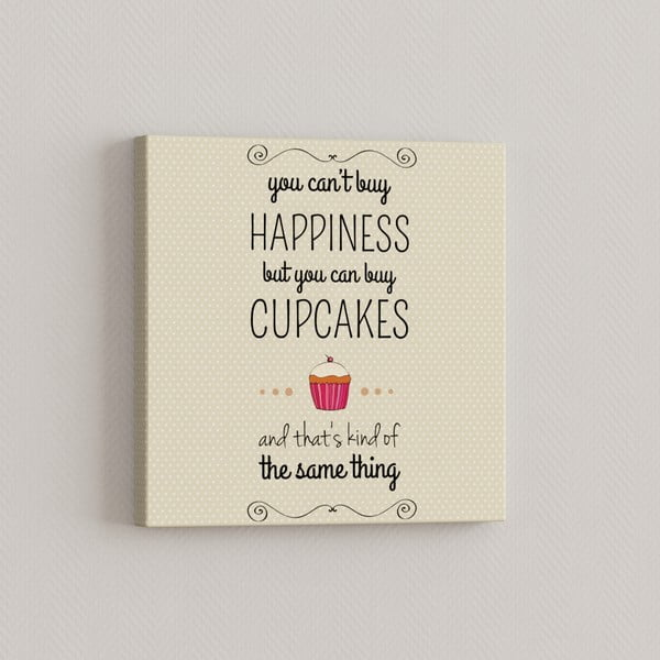 Obraz Cupcake, 33x33 cm