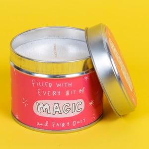 Sviečka s vôňou jahôd Happy News Magic Candle, 35 hodín horenia