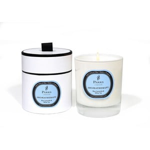 Sviečka s vôňou harmančeka a bieleho čaju Parks Candles London Aromatherapy, 50hodín horenia