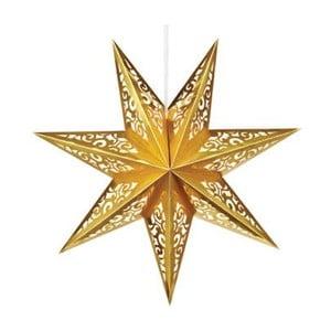 Svietiaca hviezda Valby Gold, 75 cm
