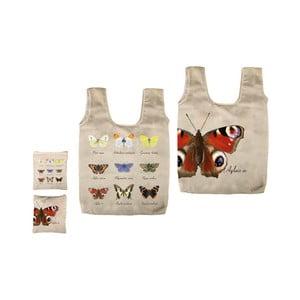 Skladacia taška s potlačou motýľov Ego Dekor Fly