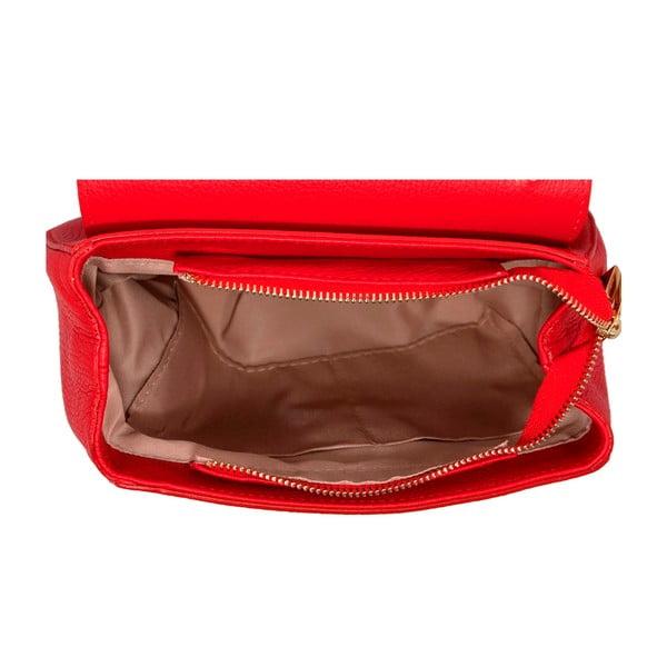 Kožená kabelka Andrea Cardone 2023 Red