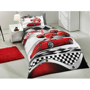 Obliečky Racing Red, 160x220 cm
