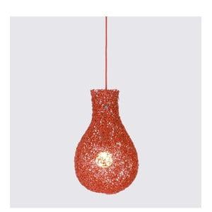 Závesná lampa Lampion, červená
