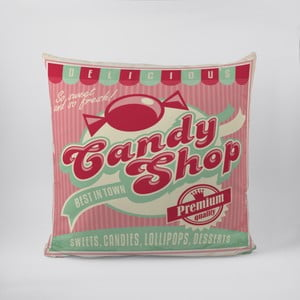 Vankúš Candy Shop