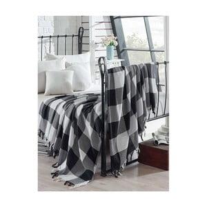 Bavlnený ľahký pléd na posteľ Luka, 200×240 cm