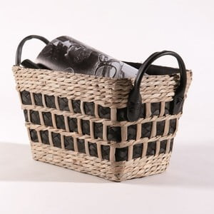 Tkaný košík Compactor Seagrass,31x20cm