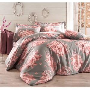 Obliečky s plachtou Rengigul Grey, 200x220 cm