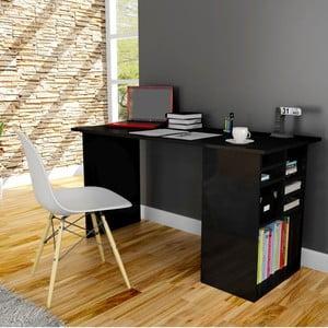 Pracovný stôl Akasya Black