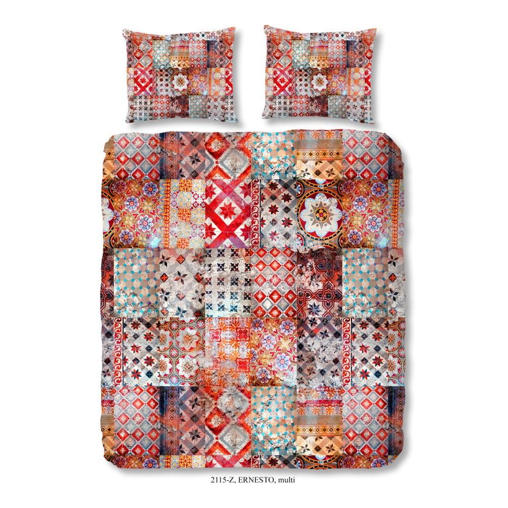 Obliečky na dvojlôžko z bavlneného saténu Muller Textiels Kento, 200 × 240 cm