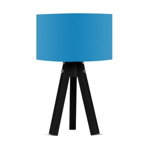 Stolová lampa s modrým tienidlom Kate Louise Blackie