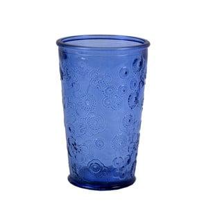 Modrý pohár Ego Dekor Flora, 300 ml