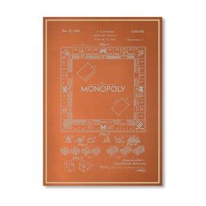 Plagát Darrow Monopoly, 30x42 cm