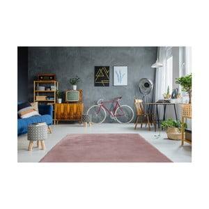 Ružový ručne vyšívaný koberec Arte Espina Rabbit 100, 180 × 280 cm
