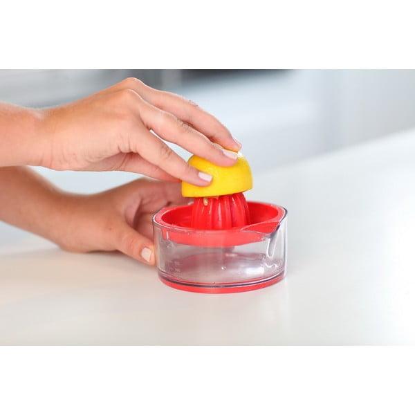 Červený odšťavovač na citróny Vialli Design Livio