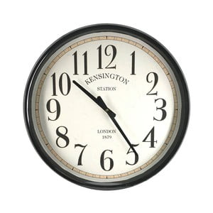 Nástenné hodiny Moycor Gales Station, ⌀ 50 cm