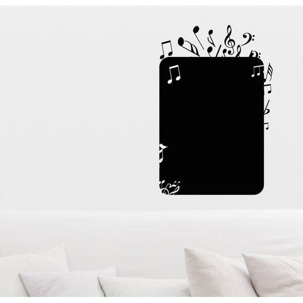 Dekoratívna tabuľová samolepka Note
