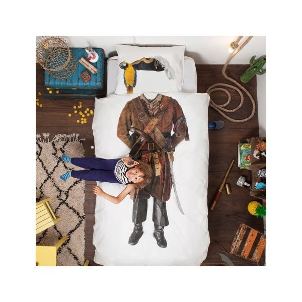 Obliečky Snurk Pirate, 140 x 200 cm