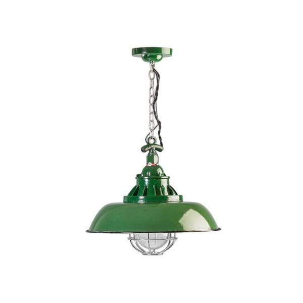 Zelené stropné svietidlo ETH Consenza