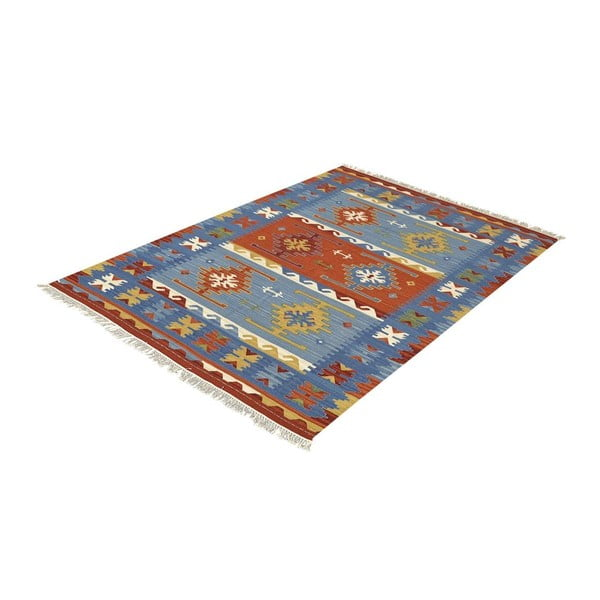 Ručne tkaný koberec Bakero Kilim Classic Mix, 125 x 185 cm