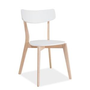 Jedálenská stolička s nohami z kaučukového dreva Signal Tibi