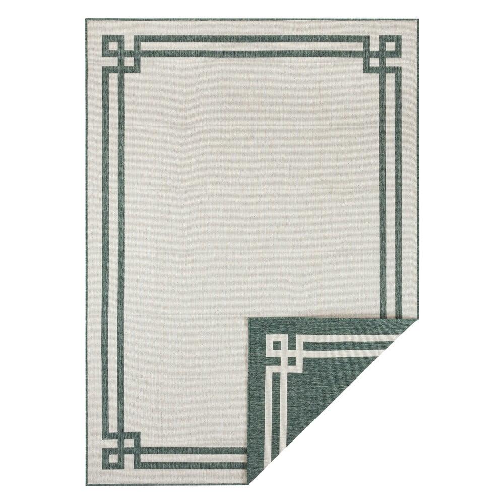 Zeleno-krémový vonkajší koberec Bougari Manito, 160 x 230 cm