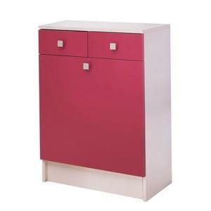 Ružová skrinka na bielizeň 13Casa Click