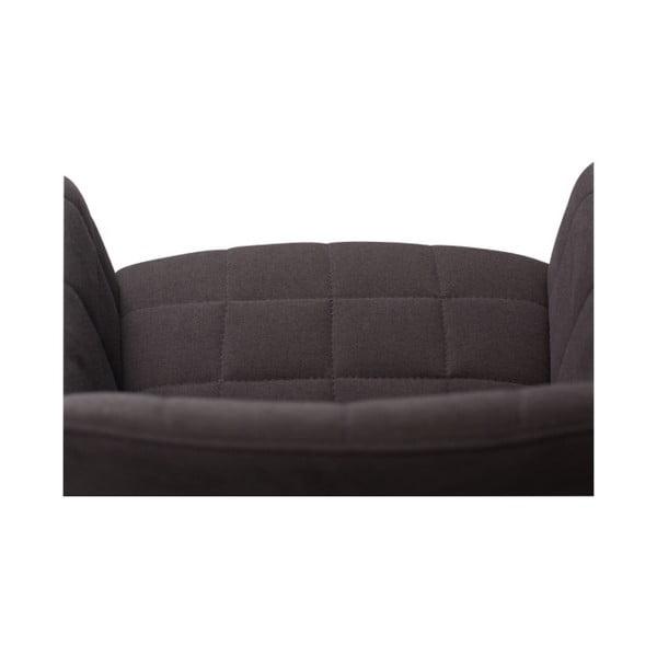 Čierna jedálenská stolička s opierkami DAN–FORM Denmark Embrace