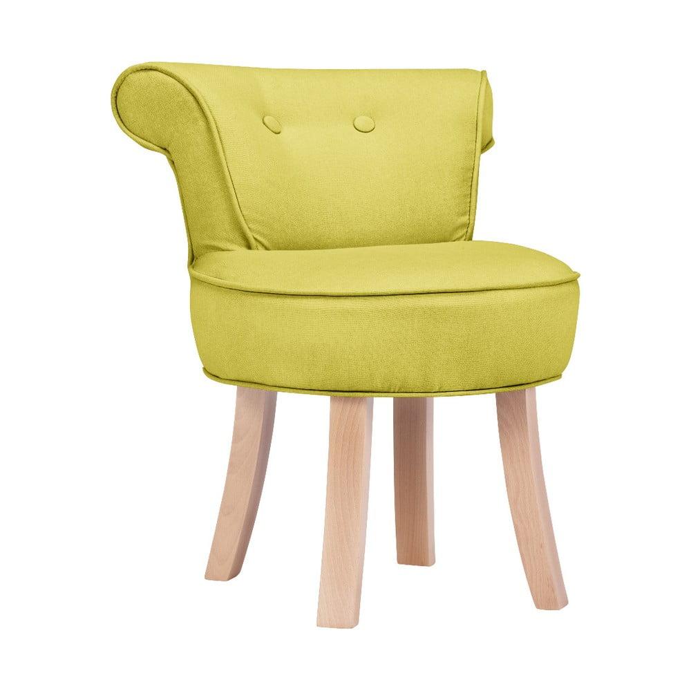 Žltá detská stolička KICOTI Sweety