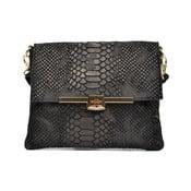 Čierna kožená kabelka Sofia Cardoni Mila