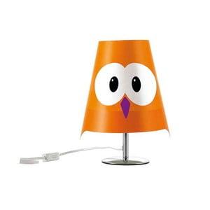 Oranžová detská lampička e-my Lucignolo