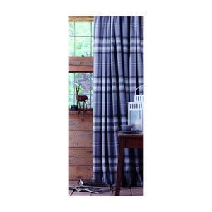 Modré závesy Catherine Lansfield Kelso, 168x183cm