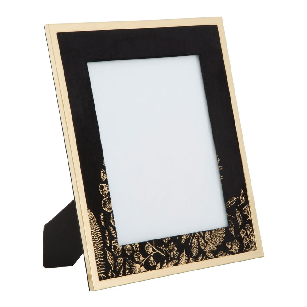 Čierny stolový fotorámik Mauro Ferretti Glam, 20 × 25 cm