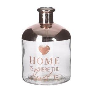 Sklenená váza Copper Home