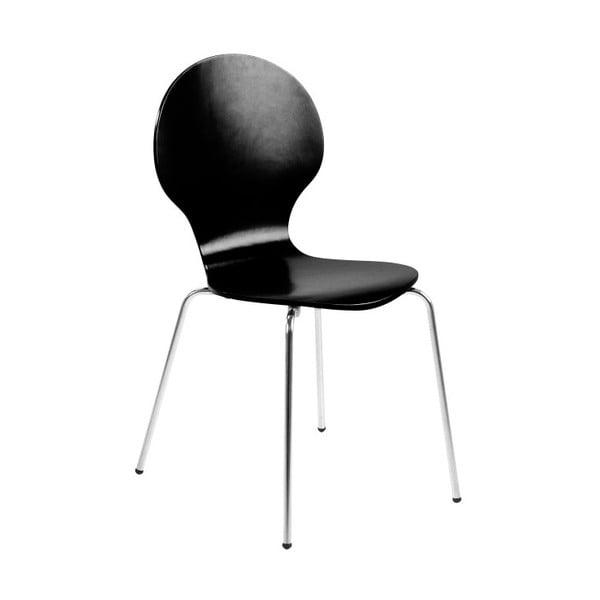 Čierna jedálenská stolička Actona Marcus