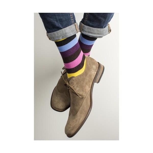 Sada 2 párov unisex ponožiek Funky Steps Cha Cha, veľkosť 39/45