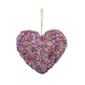 Dekoratívne srdce z kvetín Ego Dekor