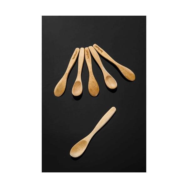 Sada 6 bambusových lyžičiek Bambum Tai Spoon