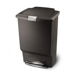 Pedálový kôš na odpadky Liana 45 l, čierny