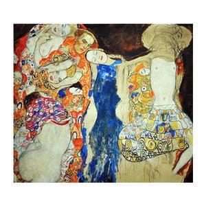 Obraz Gustav Klimt - The Bride, 45x45 cm