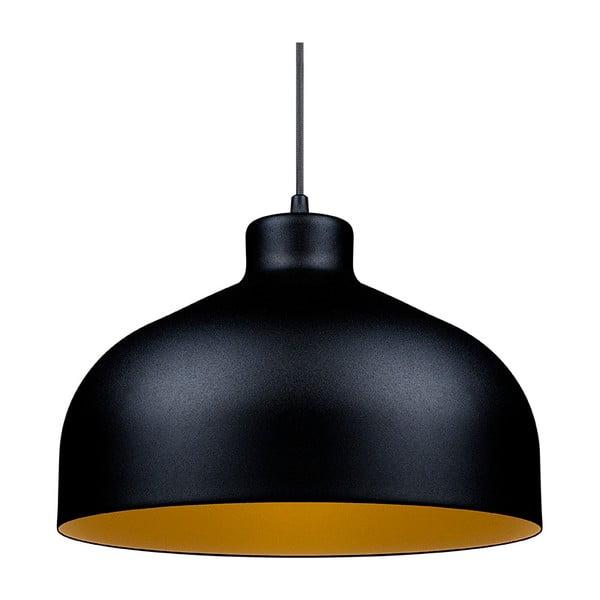 Čierno-zlaté stropné svetlo Loft You B&B, 44 cm