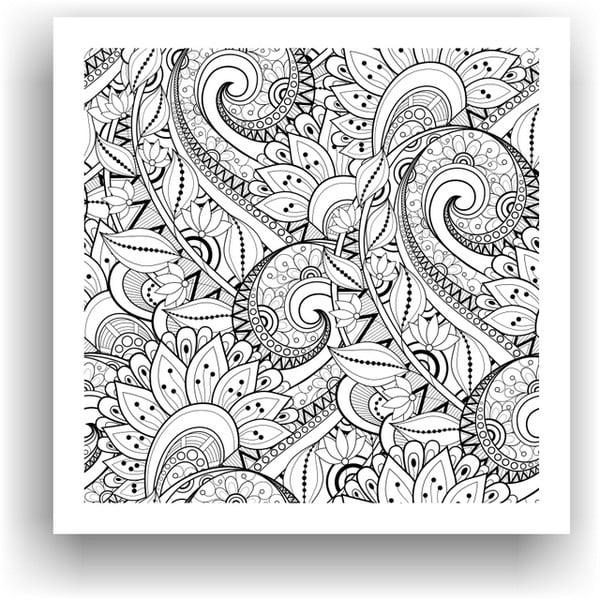 Obraz na vymaľovanie Color It no. 61, 50x50 cm