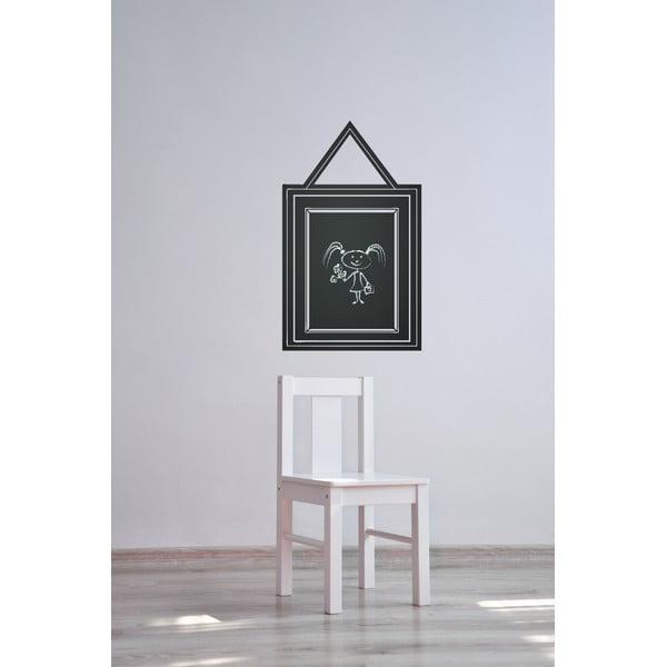 Dekoratívna tabuľová samolepka Quadro